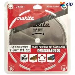 Makita D-63591 - 305mm x 30 x 120T Multi-Purpose TCT Saw Blade Makita Accessories