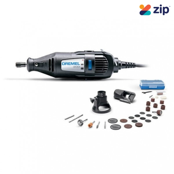Dremel 200-2/30 - 240V 200 Series 2-Speed Rotary Tool Kit w/ 30 Accessoreis & 2 Attachments F.013.020.0NJ Rotary Tools