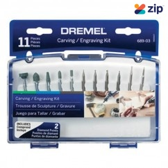 Dremel 689-03 - Carving and Engraving Mini Accessory Kit 2.615.068.9AE Carving & Engraving & Routing