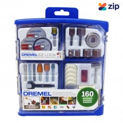 Dremel 710-RW2 - EZ Lock 160 PC All-Purpose Accessory Kit 26150710AK Carving & Engraving & Routing