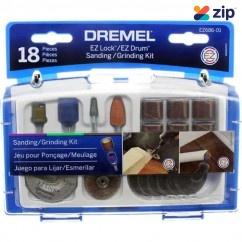 Dremel EZ686-01 - 18 Piece EZ LOCK Sanding/Grinding Accessory Set 2615E686AA Sanding