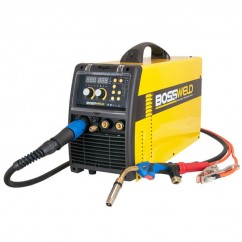 Bossweld 660250 - 240V 250A POWERPULSE 250PFC Double Pulse Multi-Function Inverter Welder Mig
