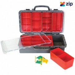 EXACTAPAK MULTI10 - 367x176x70mm 10 Compartment MultiBox Tradie Storage Case Tool Cases