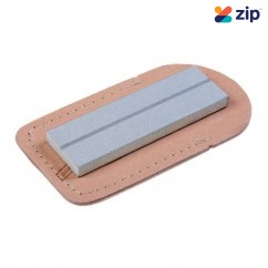 EZE-LAP 26M - 400 Medium Grit Diamond Sharpening Stone With Leather Pouch