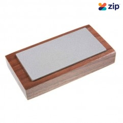EZE-LAP 52F - 50mm x 100mm 600 Fine Grit Diamond Sharpening Stone On Walnut Pedestal Sharpening Equipment
