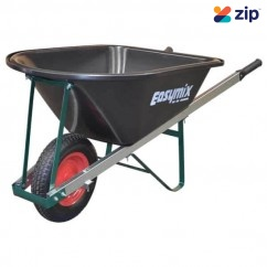Easymix W250P - 100L Heavy Duty Poly Tray Handyman Wheelbarrow Wheelbarrows & Trolleys