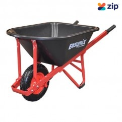 Easymix W300P-HSRWGP - 100L Poly Contractor Wheelbarrow Wheelbarrows & Trolleys