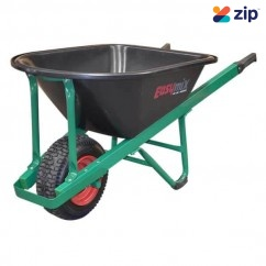 Easymix W800P-HSGWGP - Green Poly Heavy Duty Contractors Wheelbarrow Wheelbarrows & Trolleys