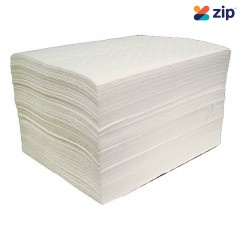 Ecospill WP12 - 100 x White Fuel and Oil Absorbent Mats