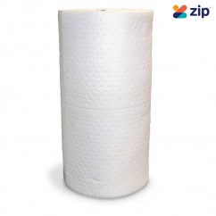 Ecospill WPR12 - 800mm x 50m 2 Sheets White Fuel & Oil Absorbent Rolls Cleaning Products