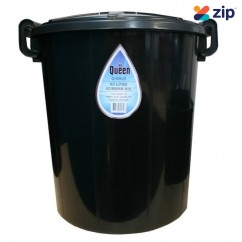 Electaserv Q-60623 60L Plastic Rubbish Bin and Lid Bin