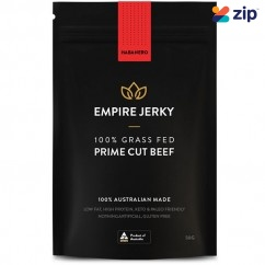 EMPIRE JERKY Habanero Favourite 100% Grass Fed Prime Cut Beef Jerky - 50G