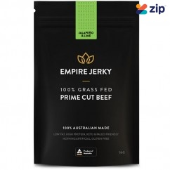 EMPIRE JERKY Jalapeno & Lime Favourite 100% Grass Fed Prime Cut Beef Jerky - 50G