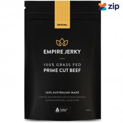EMPIRE JERKY Original Favourite 100% Grass Fed Prime Cut Beef Jerky - 50G Hydration