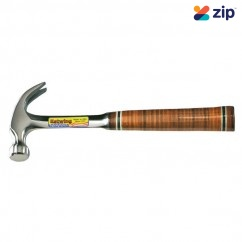Estwing EWE20C - 20oz Leather Grip Claw Hammer 502165 Hand Tools