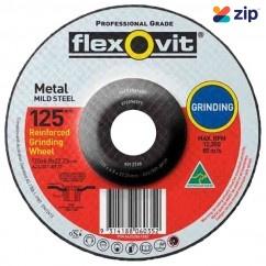 FLEXOVIT 66252841682 - 180 x 6.8 x 22.2mm A24 / 30T Metal Grinding Disc 6012768