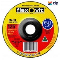 FLEXOVIT 66252841685 - 180 x 3.4 x 22.2mm A30S - A24-30T Metal Cutting Disc 6017834