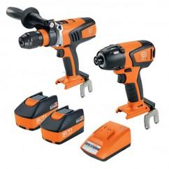 Fein 69908010726 - 18V 5.2Ah 2PC Cordless Brushless Drill-Driver/Impact-Wrench Kit Combo Kits 18v