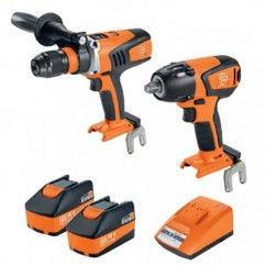 Fein 69908010727 - 18V 5.2Ah 2PC Cordless Brushless Drill-Driver/Impact-Wrench Kit Combo Kits 18v