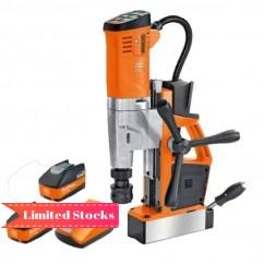 Fein AKBU35PMQ 18V Weldon 5.2Ah Set - 18V 35mm  5.2Ah Cordless Brushless Universal Metal Core Drill Set 71700261060 Magnetic Drill