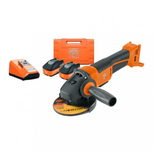 Fein CCG 18-125 - 18V 125mm Cordless Angle Grinder Kit 71200261060 Angle Grinders