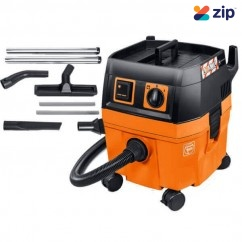 Fein DUSTEX25L-SET 24Lt Wet & Dry Vacuum Cleaner with Floor Cleaning Set 92027060060 Dust Extractors for Power Tools