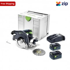 Festool HKC 55 EB-Plus Li 5.2Ah SCA8 - HKC 55 160 mm Cordless Circular Saw Plus Li SCA8 201582 Circular Saws