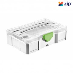 Festool 203813 - Mini T-Loc Systainer with Transparent Lid Medium Cases