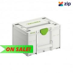 Festool 204843 - Systainer SYS 3 21.4L Medium 237x396mm Storage Box