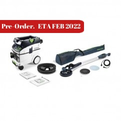 Festool LHS E 225 CTM 36-Set - 225mm PLANEX Drywall Sander With M Class Dust Extractor Set 270937