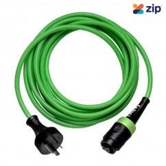 Festool H 05 BQ-F 2x1.0 4m - Green - Heavy DutyPUR High Strength Plug-it Cable 203928