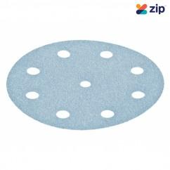 Festool STF D125/90 P120 GR/100x - 125mm 9 Hole P120 Granat Abrasive Disc 497148 Abrasives