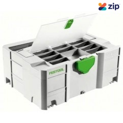Festool SYS 1 TL-DF - Systainer SYS 1 T-Loc Storage Box with Lid 497851 Workshop Tool Boxes & Trolleys