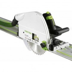 Festool TS75EBQ-PLUSFSDB - 210mm Plunge Cut Circular Saw with Diamond Blade 574885 240V Circular Saws - Dustless