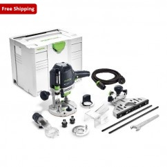 Festool OF 1400 EBQ-PLUS - 1400W Plunge Router 574346 240V Routers