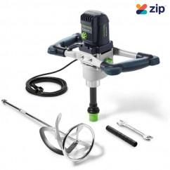 Festool MX 1200/2 E EF  HS3L AUS - 1200W 2 Speed Stirrer with HS 3 140x600 Left Hand Rod 574792 240V Mixers/Stirrer