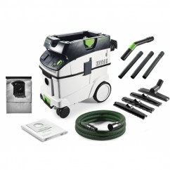 Festool CT 36 E LLF - 1200W Dust L Class HEPA Dust Extractor with Long Life Bag 574868 Hazardous Materials Vacuums