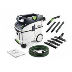 Festool CT 36 E HEPA FS - 1,200W Dust Class L CTL 36 HEPA Dust Extractor 574936 Dust Extraction & Vacuums