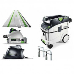 Festool PF 1200 E-Ultimate Set - 1200W Aluminium Milling Machine Saw  Ultimate Set 575005 Other Power Tools