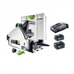 Festool TSC 55 REB Li 5.2Ah SCA8-Plus - TS 55 160 mm Plunge Cut Saw Plus Li SCA8 575764 Circular Saws