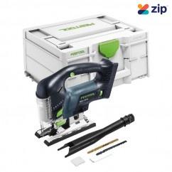 Festool PSBC 420 EB-Basic - 18V CARVEX Cordless Brushless D Handle Jigsaw Basic Skin 576530