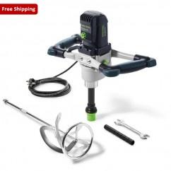 Festool MX 1600/2 E EF-Set HS 3 L - 1500W 2 Gear Stirrer for up to 90l with Left Stirring Rod 574794