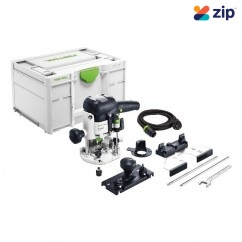 Festool OF 1010 EBQ-Plus - 240V 1010W 55MM Plunge Router In Systainer 576198
