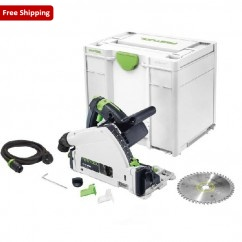 Festool TS 55 REBQ-Plus - 160mm Plunge Cut Circular Saw in Systainer 576004