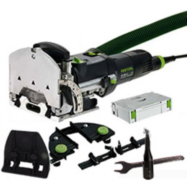 Festool DF 500 Q-SET - DOMINO Joining System Set 201655 240V Biscuit Joiners & Domino