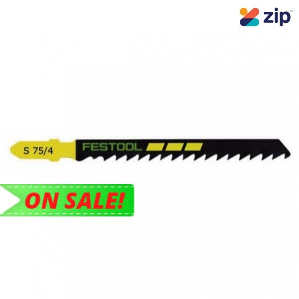 Festool S 75/4/5 - 5PK 75mm Jigsaw Blade 204305 Festool Jigsaw Accessories