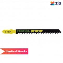 Festool S 75/4/100 - 100PK 75mm Jigsaw Blade 493522 Festool Jigsaw Accessories