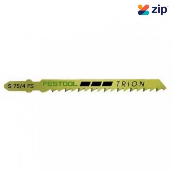 Festool S 75/4 FS/100X - 75mm 100 PCE Jigsaw Blade 493523 Festool Jigsaw Accessories
