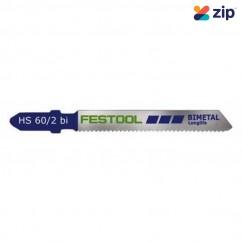 Festool HS 60/2 BI/5 Jigsaw Blade 486557 Festool Jigsaw Accessories