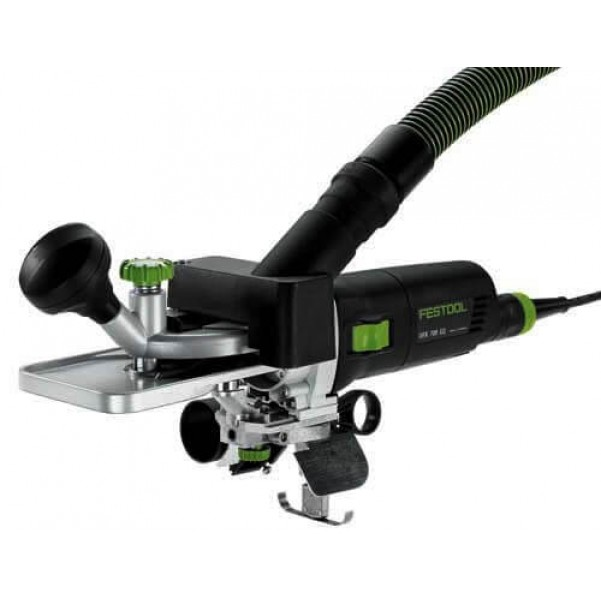 Festool OFK 700 EQ-Plus Laminate Trimmer with Systainer 574452 240V Trimmers